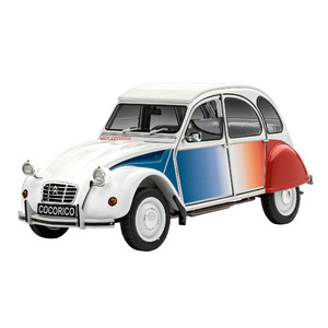 Revell Citroen 2CV Cocorico Starter Kit 1:24 Scale Model Car #67653