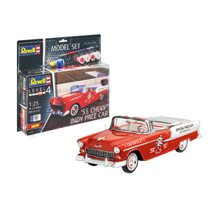 Revell '55 Chevy Indy Pace Car Scale: 1:25 Scale Model #67686