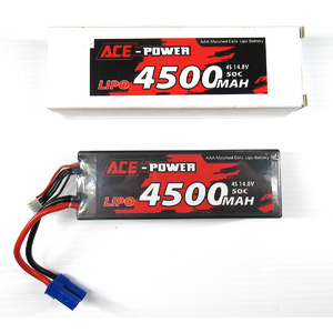 ACE Power 14.8v 4500mah Lipo 50C Battery EC5 E-Flite Connector