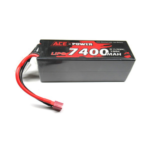 Ace Power 4S 7400Mah 15.2V (HV) 100C Lipo Battery Hard Case, Deans Connector