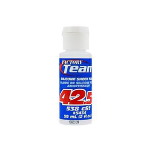 Team Associated Silicone Shock Oil Fluid 42.5wt 538 cSt 59ml #5434