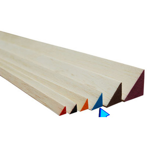 Traingle Balsa 12.5x12.5x915mm Blue BWTR73673