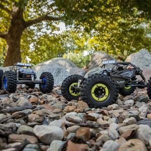 1/18 Temper 4WD Gen 2 Brushed Rock Crawler RTR, Yellow Int (ECX01015IT1)