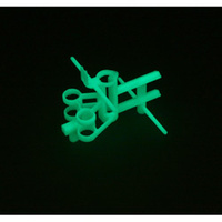 Main Frame Set, Glow in the Dark: Blade MCX by E-flite EFLH2224GL