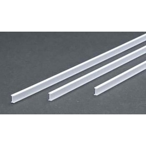 Evergreen 277 Styrene I Beam .250 6.4mm (3)