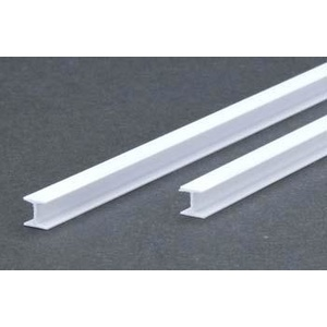 Evergreen 287 H Column Styrene .250 6.4mm (2)