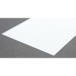 Evergreen 4506 Square Tile Sheet 1/3 inch Plastic