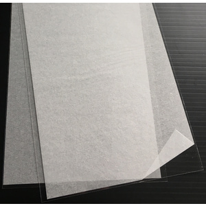 Evergreen, 2 Styrene Sheets 300mm - 0.25mm 9006