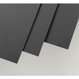 Evergreen 9511 Plastic Styrene Black Sheet .010x6x12 (152mm x 305mm) (.25mm) Qty 4