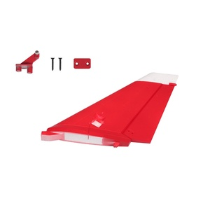 Vertical Stab Red Yak 130 FMSPS103RED