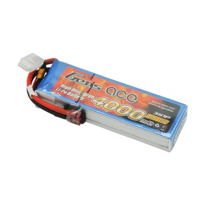 11.1v 4000mah 3S 25C Lipo Battery by Gens Ace