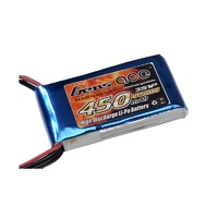 450mAh 11.1V 25C 3S1P Lipo Battery Gens ace