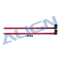 TREX 150 Tail Boom-Red H15T002XR