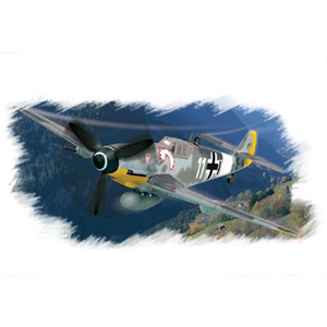 Bf109 G-6 (early) Plane Model 1:72 Warbird #80225