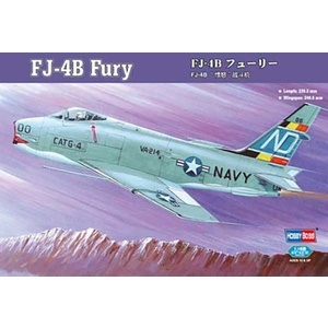 FJ-4B Fury fighter-bomber 1:48 Model #80313