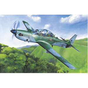 HobbyBoss Brazilian EMB-314 Super Tucano 1:48 Scale Model Plane #81727