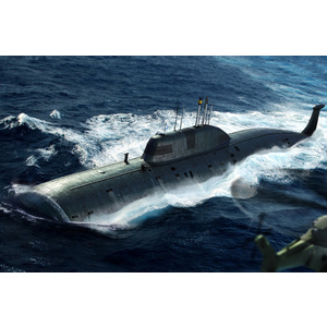 HobbyBoss Models 1:350 Russian Navy SSN Akula Class Attack Submarine HB83525