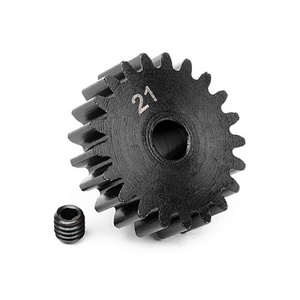 HPI Racing Steel Mod 1 Pinion Gear w/5mm Bore (21) HPI-100920