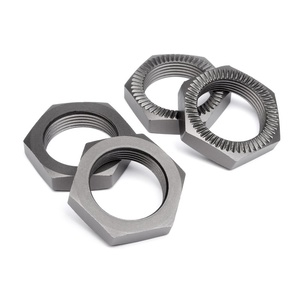 WHEEL NUT 24mm (GUNMETAL/4pcs) #102216