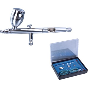 HSeng HS-83K Dual Action High Volume Airbrush Set including Hose and Case