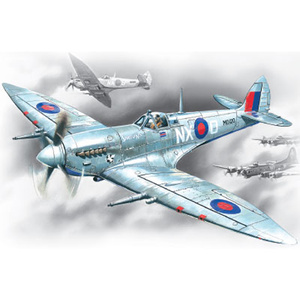 ICM 48062 Spitfire MK.VII British Fighter Aircraft, WWII, 1/48 #48062