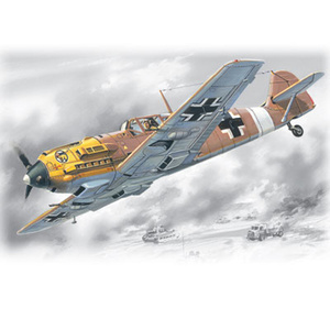 ICM 72133 BF 109E-7/TROP WWII German Fighter, 1/72 #72133