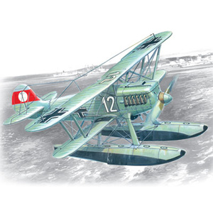 ICM 72192 Heinkel HE 51B-2 German Floatplane Fighter, 1/72 #72192