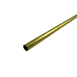 "KS Metals, Brass Tube 915mm - 3/16 x .014 x 36"" 1 PC KS1147"