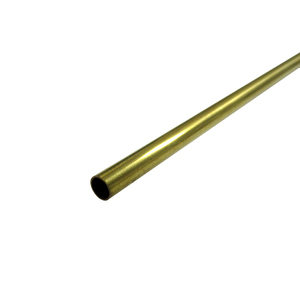 "KS Metals, Brass Tube 915mm - 7/32 x .014 x 36"" 1 PC KS1148"