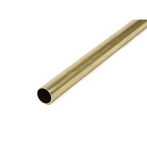 K&S Precision Metals Brass Round Tube 10mm OD x 0.45mm x 1000mm #3928 (Qty 1)