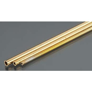 3/32'', 1/8'', 5/32'' Bendable Brass Tubes (3/cd) KS 5075