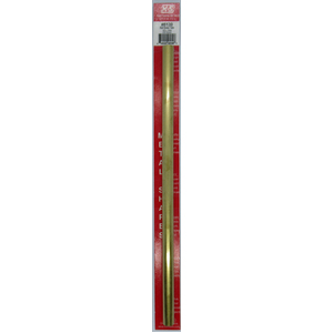 1/2''x12'' Round Brass Tube .014 Wall (1) KS 8139