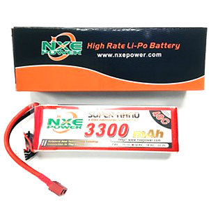 NXE 3300mah 3S 11.1V 40C Lipo Battery with Deans connector