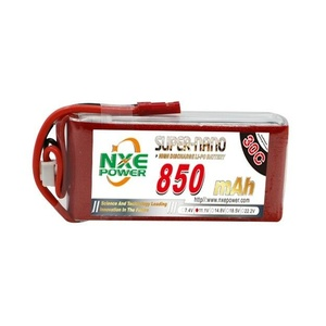 NXE 11.1V 3S, 850mAh 30C Lipo Battery With JST Connector #850SC303SJST
