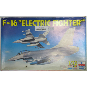 "PRE-OWNED - ESCI/ERTL F-16 ""Electric Fighter"" 1:72 PO-ESC9091"