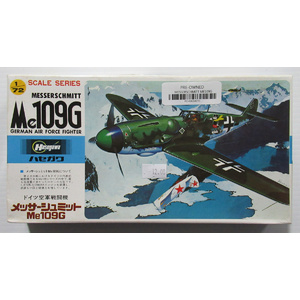 PRE-OWNED - Hasegawa - Messerschmitt Me109G German Air Force Fighter 1:72 #PO-HASA010
