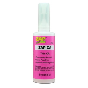 ZAP Thin Pink CA 2oz PT07