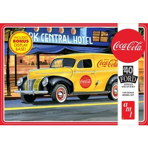 AMT 1161 1940 Ford Sedan Delivery (Coca-Cola) 1:25 Scale Model Kit
