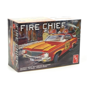 AMT 1970 Chevy Impala Fire Chief 1:25 Scale Model  #AMT1162