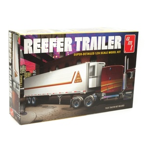 AMT Reefer Semi Trailer 1:24 Scale Model Kit #AMT1170