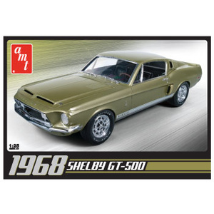 AMT 634 1968 Shelby GT500 1:25 Scale Model Kit