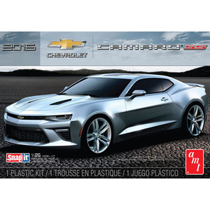 AMT 982 2016 Chevy Camaro SS Snap Kit (Garnet Red) 1:25 Scale Model