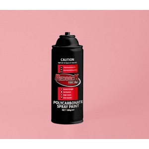 Pink Polycarbonate Spray Paint 180ml - RBPCS011 PS-11