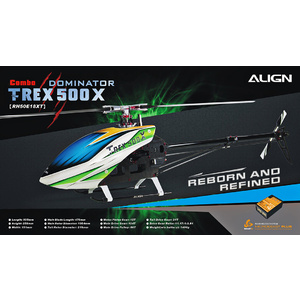 RC Helicopter T-Rex 500X ombo #RH50E18X