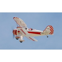 Waco RC BiPlane RTF Red & White by RocHobby