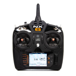 NX6 6-Channel Transmitter Only SPMR6775 Mode 1