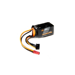 14.8V 450mAh 4S 50C Smart LiPo Battery, JST (SPMX4504S50)