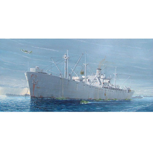 WW2 Liberty Ship S.S. Jeremiah OBrien 1:350 Model #05301