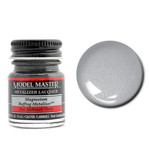 Model Master 1412 Dark Anodonic Gray Buff Metallic Paint 14.7ml Jar
