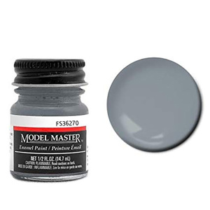 Model Master Neutral Gray 36270 Enamel Paint 1/2 oz (14.7mL) Glass Jar #1725